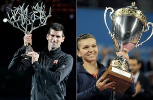 novak djokovic is simona halep